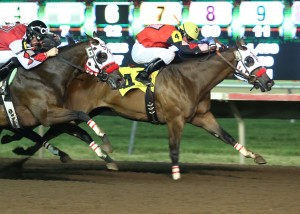 Eyesa Wagon Maker - Mystic Lake Northlands Futurity - 07-05-13 - R09 - CBY - Finish