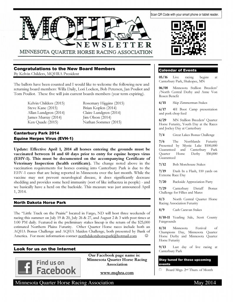 2014_MQHRA_Newsletter_May_Page_1