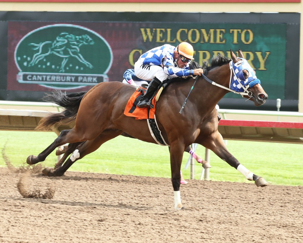 TTY From Mr Pye - Minnesota Quarter Horse Futurity - 08-31-14 - R02 - CBY - Finish