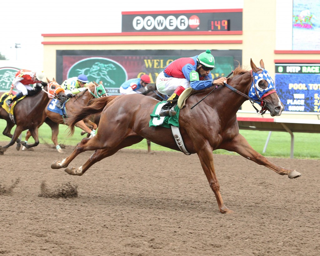STREAK N DIAMONDS - Minnesota Quarter Horse Futurity - 09-06-15 - R01 - CBY - 001