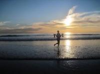 Annise Montplairsir enjoying the beach in CA.jpg
